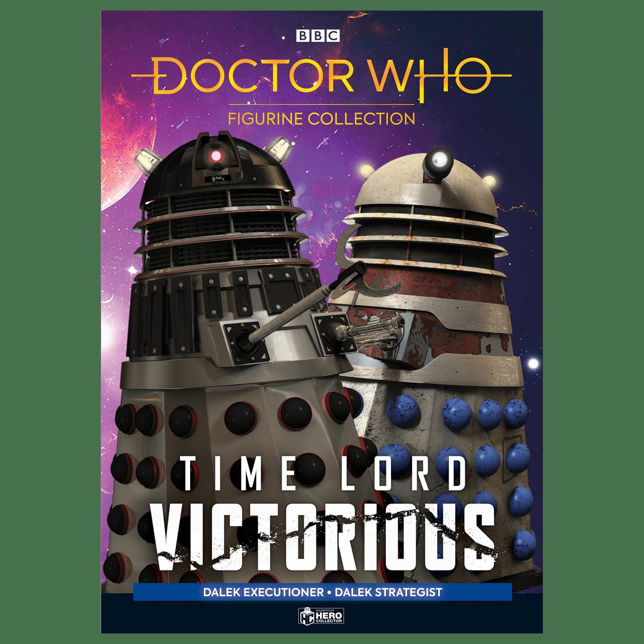 Doctor Who: Dalek Executioner and Dalek Strategist Figurine Set: Hero Collector - 6