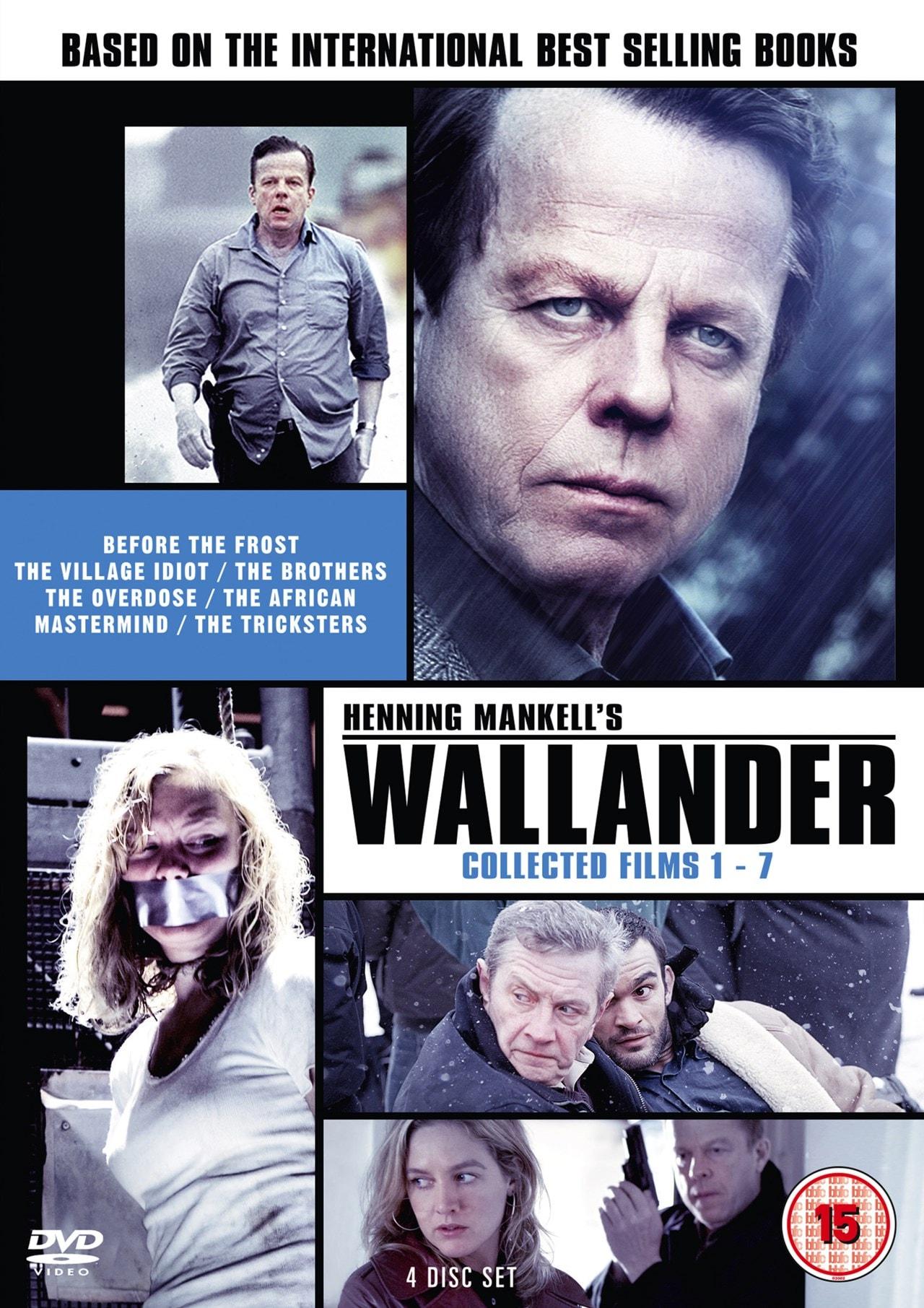 Wallander: Collected Films 1-7 - 1