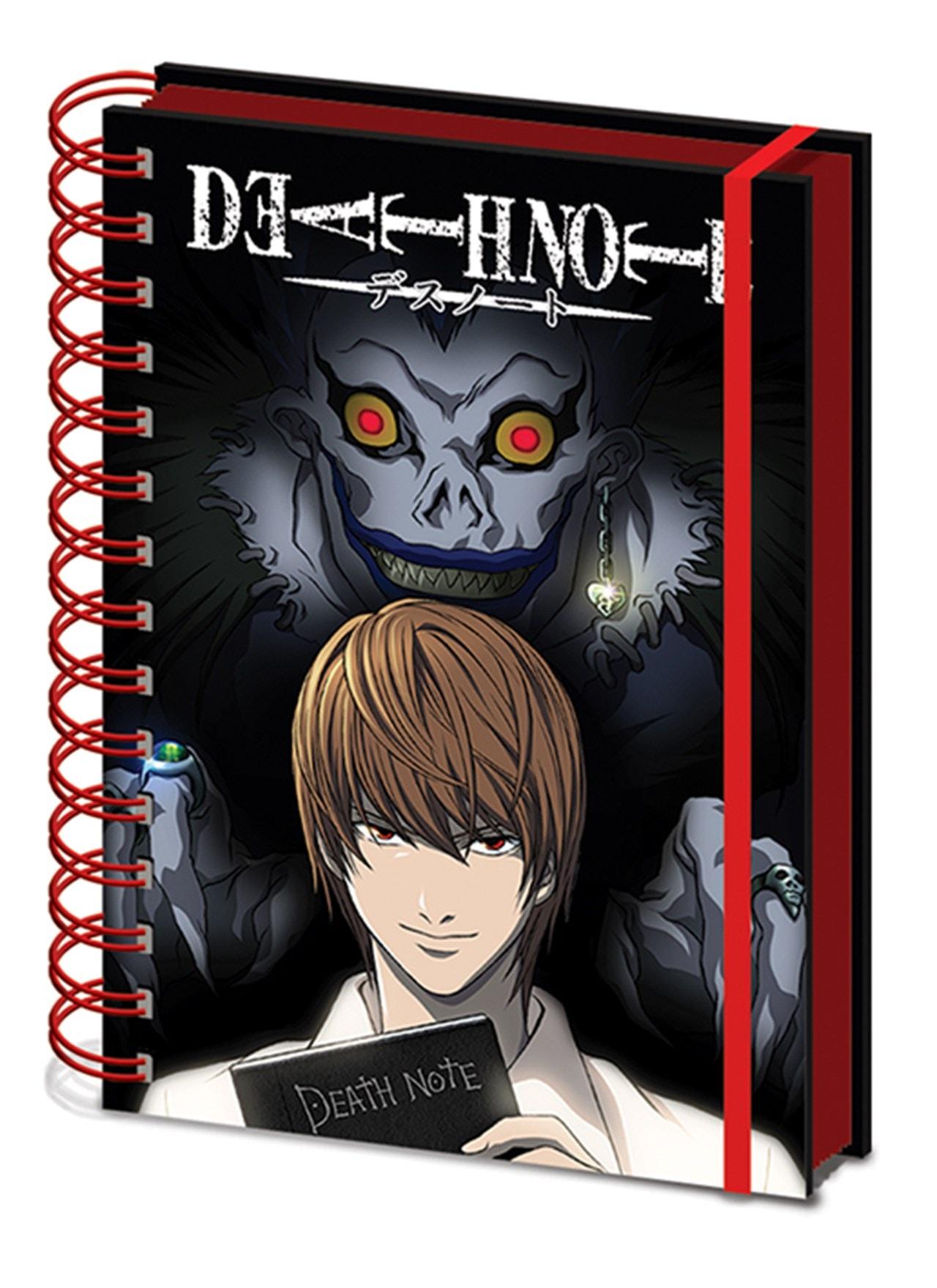 Death Note: Shadow A5 Wiro Notebook - 1