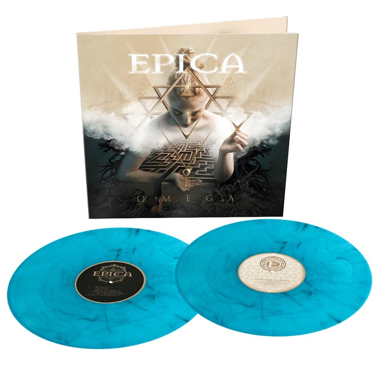 Omega - Limited Edition Turquoise/Black Marbled Vinyl - 1