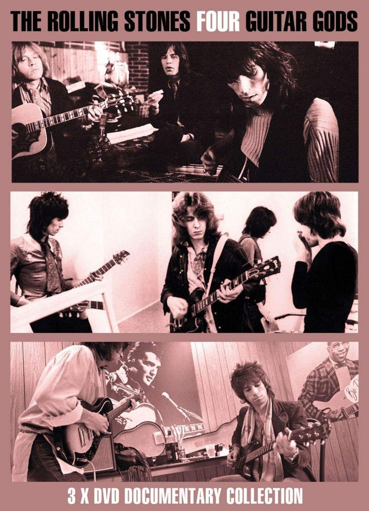 The Rolling Stones: Four Guitar Gods - 1