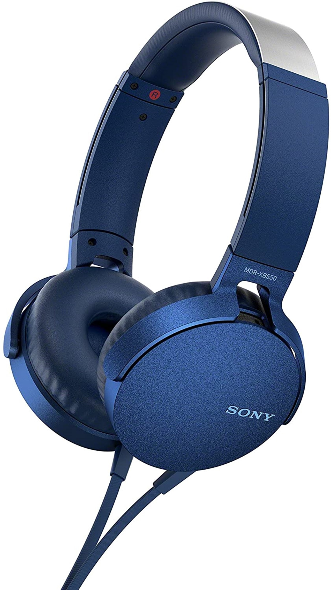 Sony XB550AP Blue Extra Bass Headphones - 1