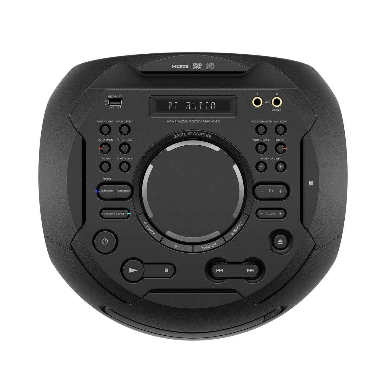 Sony MHCV42D High Power Bluetooth Audio System - 5