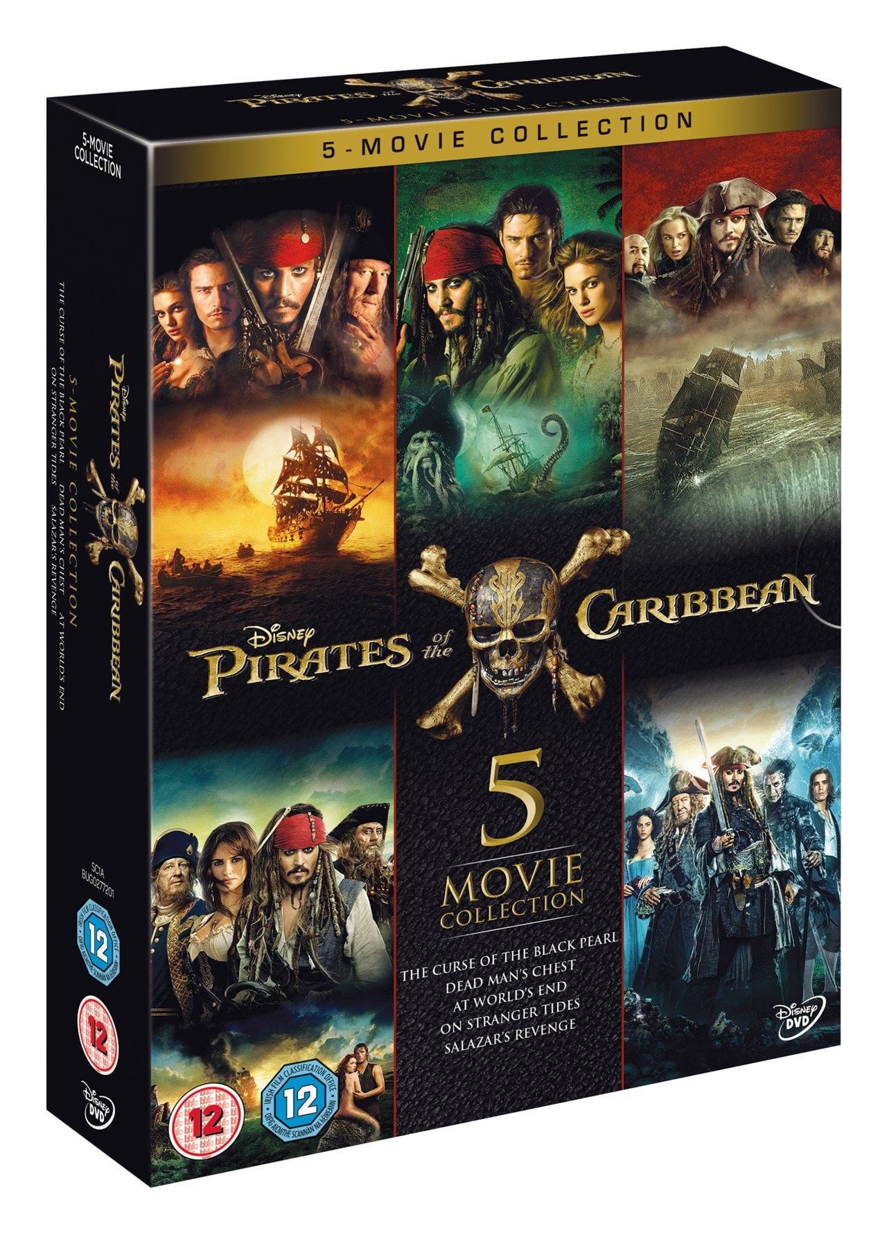 Pirates of the Caribbean: 5-movie Collection - 2