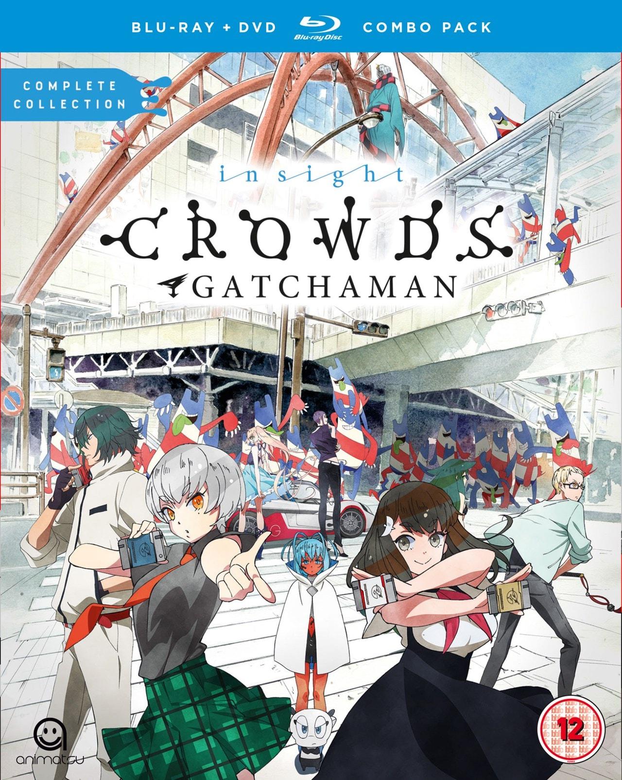 Gatchaman Crowds Insight - 1
