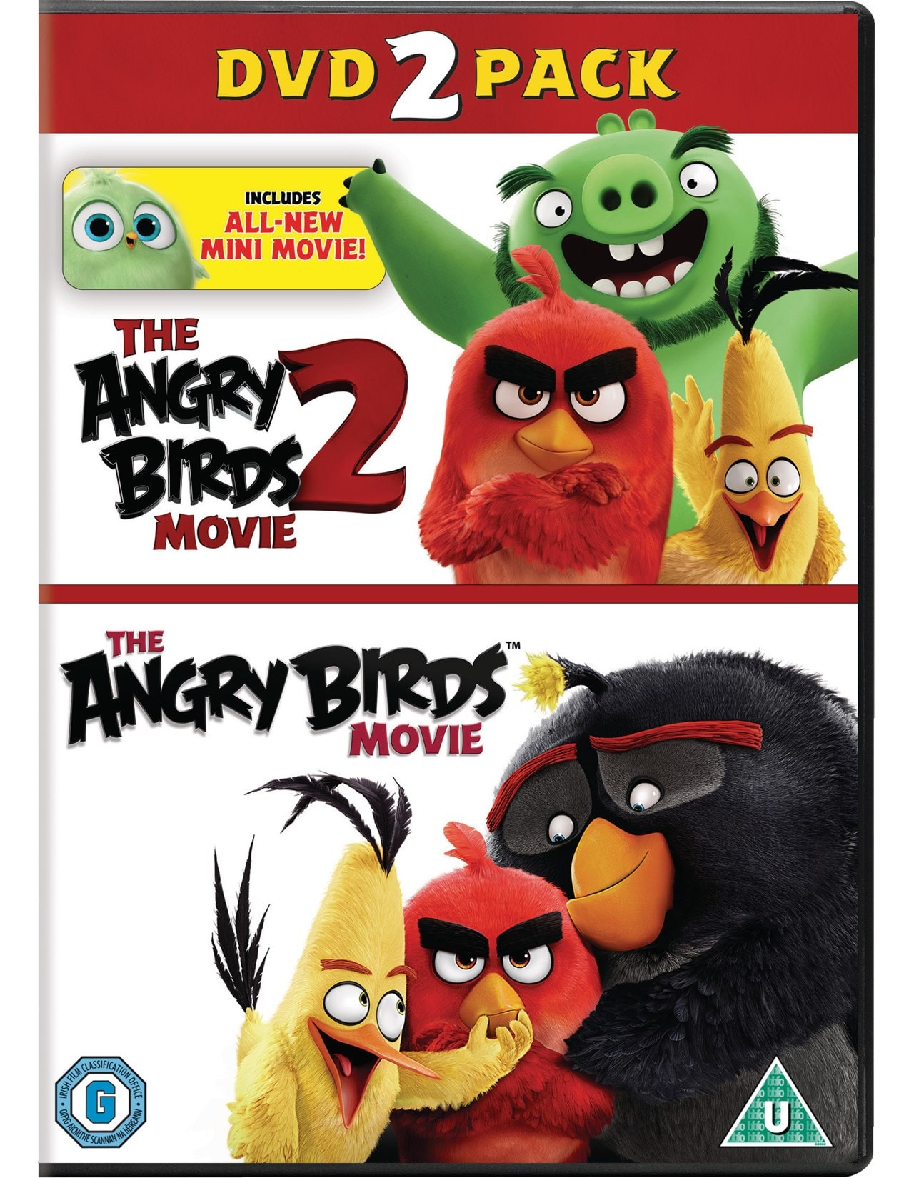The Angry Birds Movie 1 2 Dvd Free Shipping Over 20 Hmv