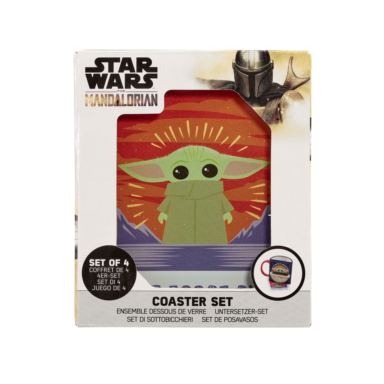The Child: Polaroids: The Mandalorian Coaster Set - 2