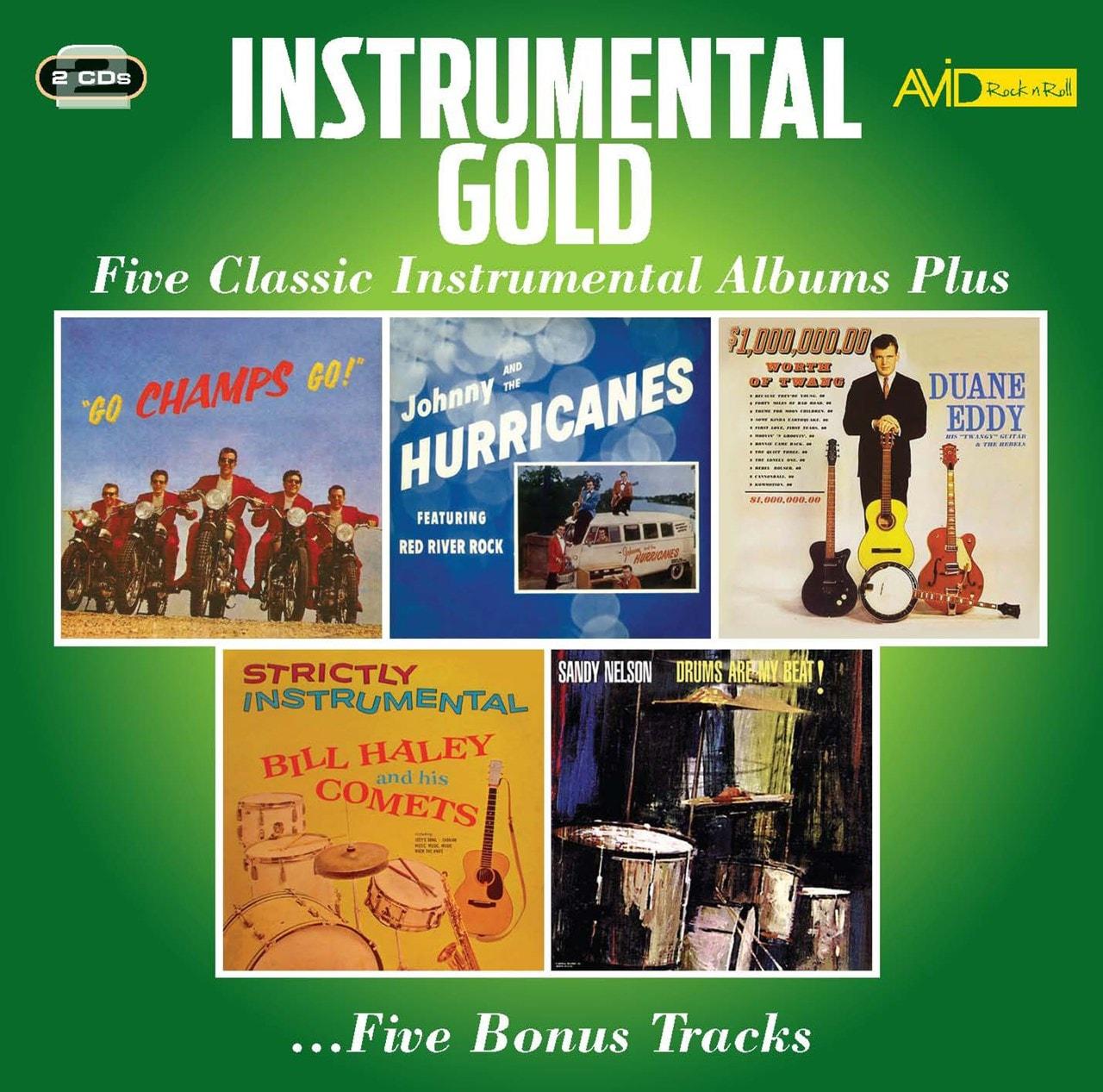 Instrumental Gold: Four Classic Instrumental Albums Plus - 1
