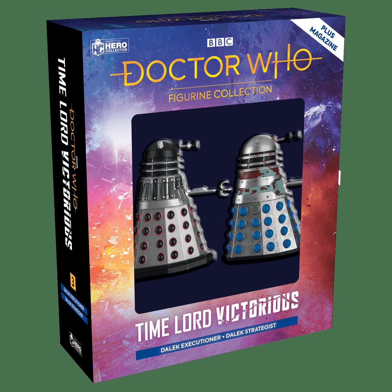 Doctor Who: Dalek Executioner and Dalek Strategist Figurine Set: Hero Collector - 1