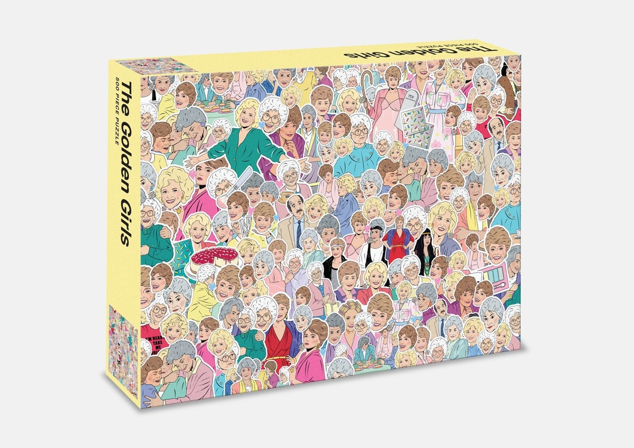 Golden Girls: 500 Piece Jigsaw Puzzle - 4