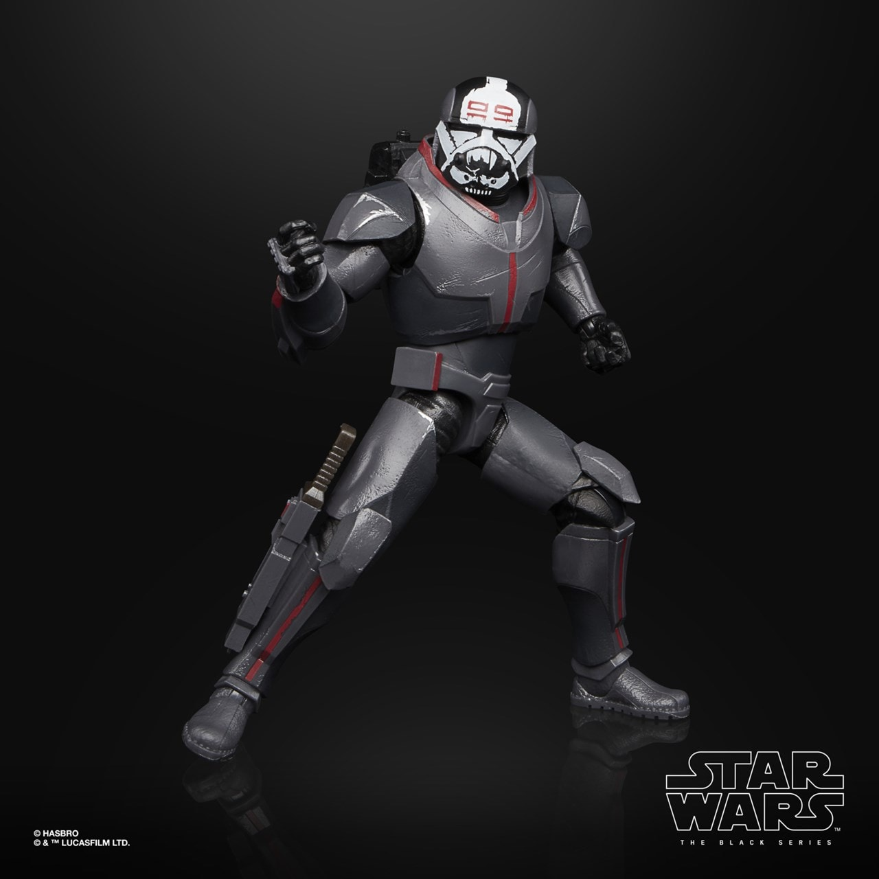 Wrecker: Bad Batch: Star Wars The Black Series Action Figure - 3