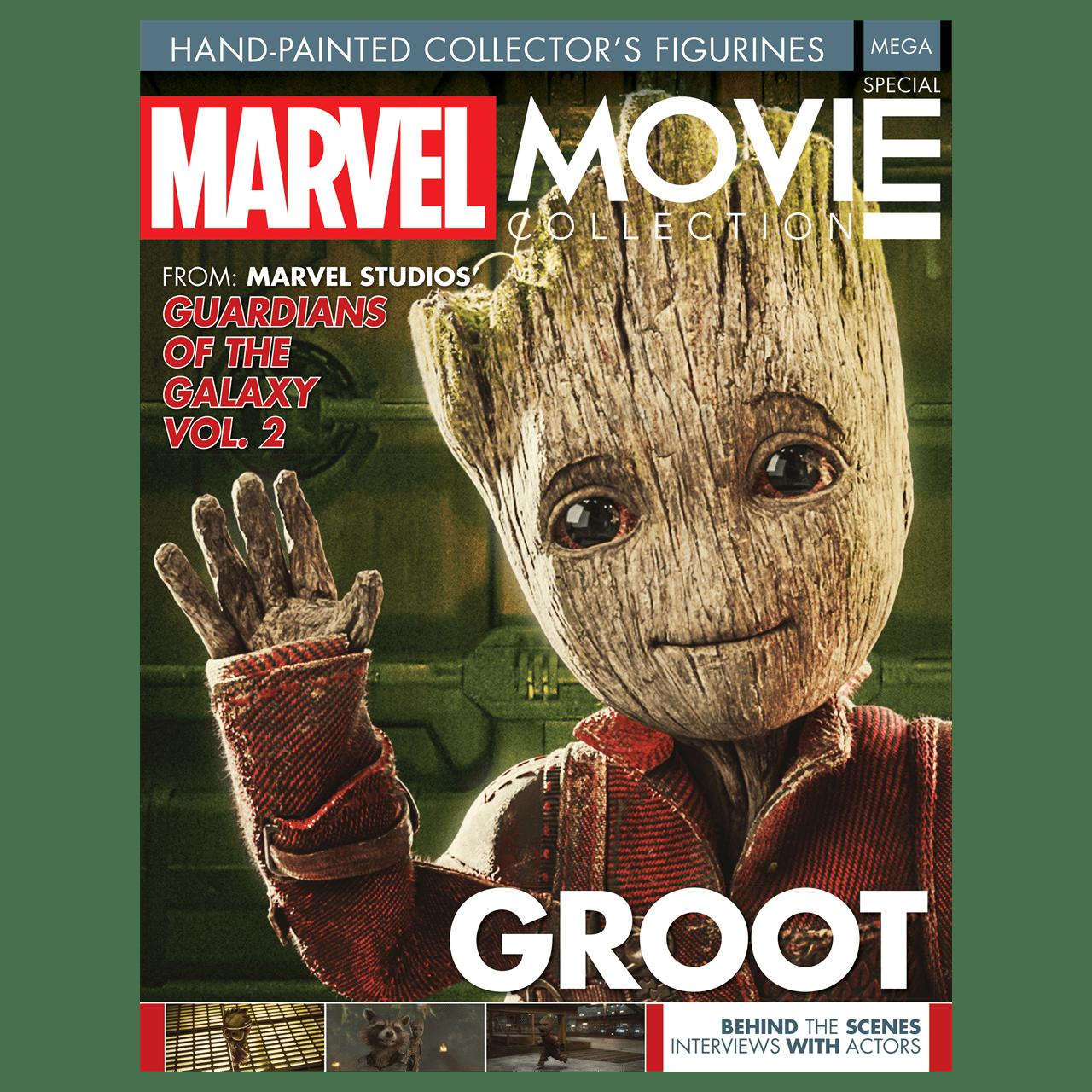 Baby Groot: Marvel Mega Figurine (online only) Hero Collector - 6