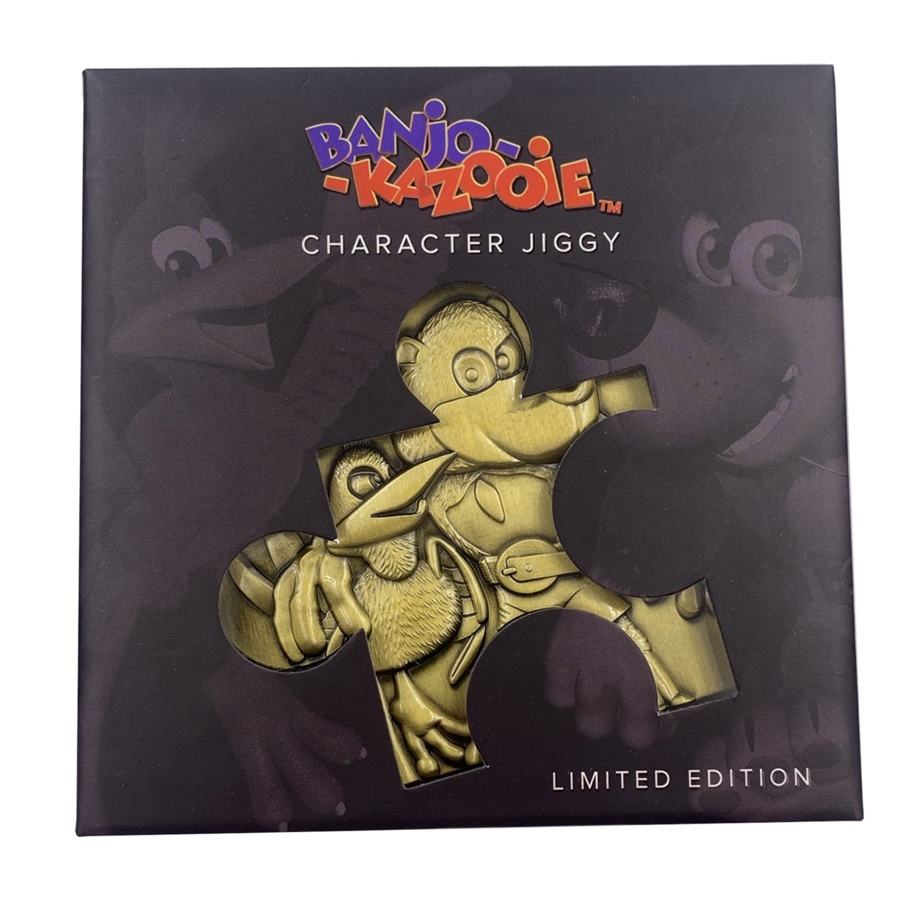 Banjo Kazooie Jiggy Piece Metal Collectible (online only) - 3