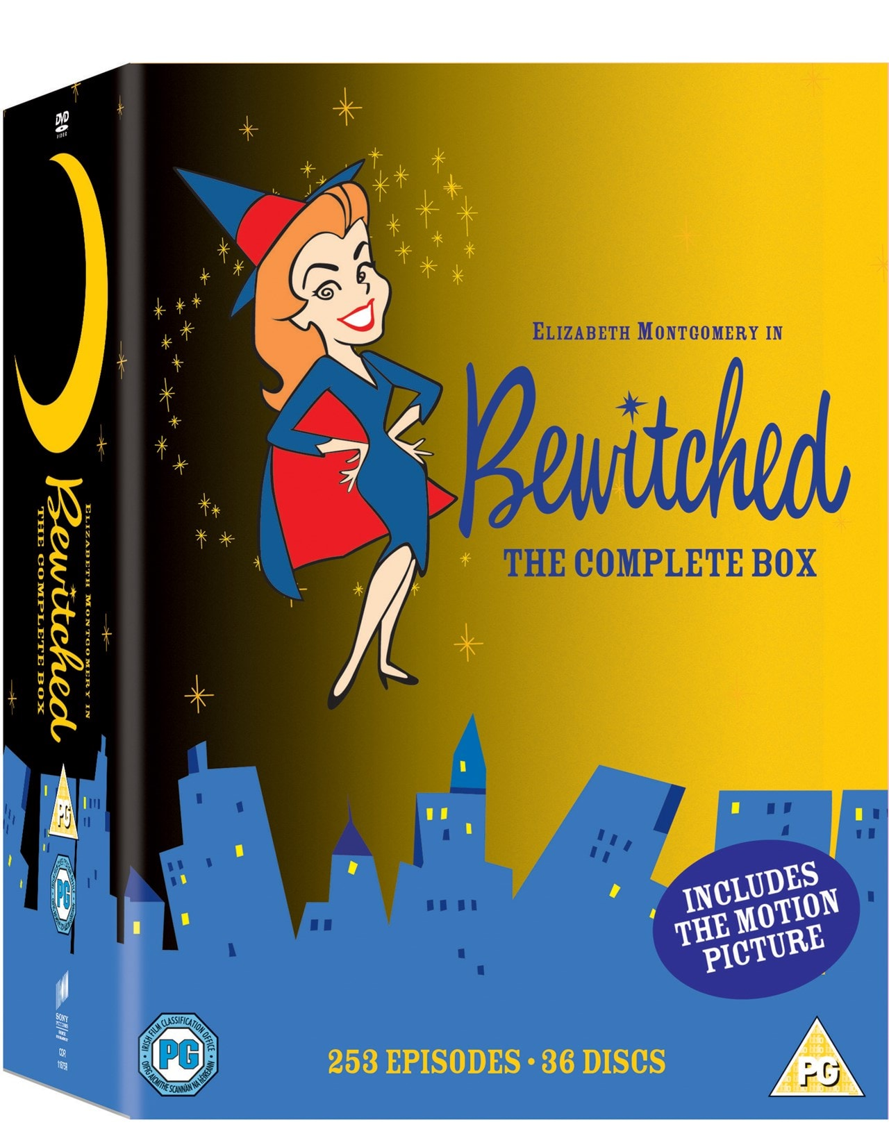 Bewitched Seasons 1 8 Dvd Free Shipping Over 20 Hmv Store