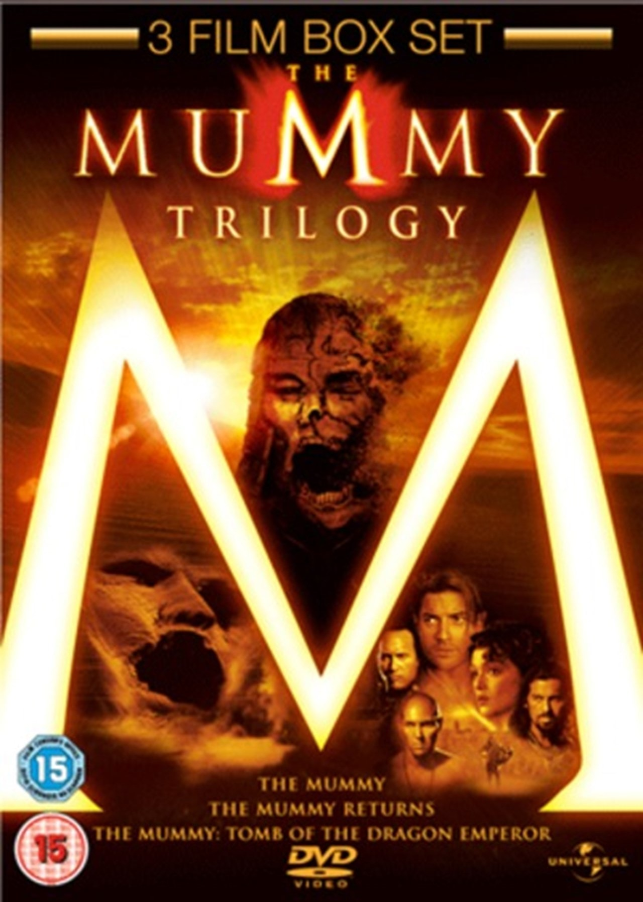 The Mummy/The Mummy Returns/The Mummy: Tomb of the Dragon Emperor - 1