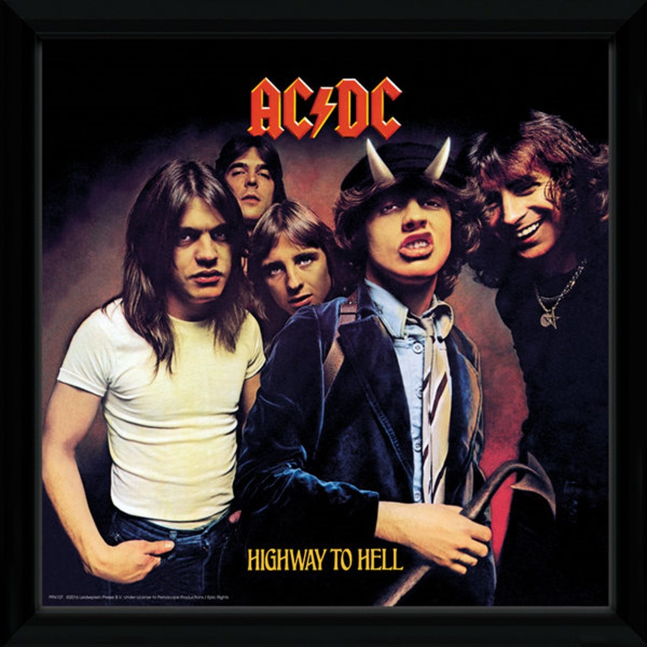 AC/DC Highway To Hell Framed Wall Art - 1