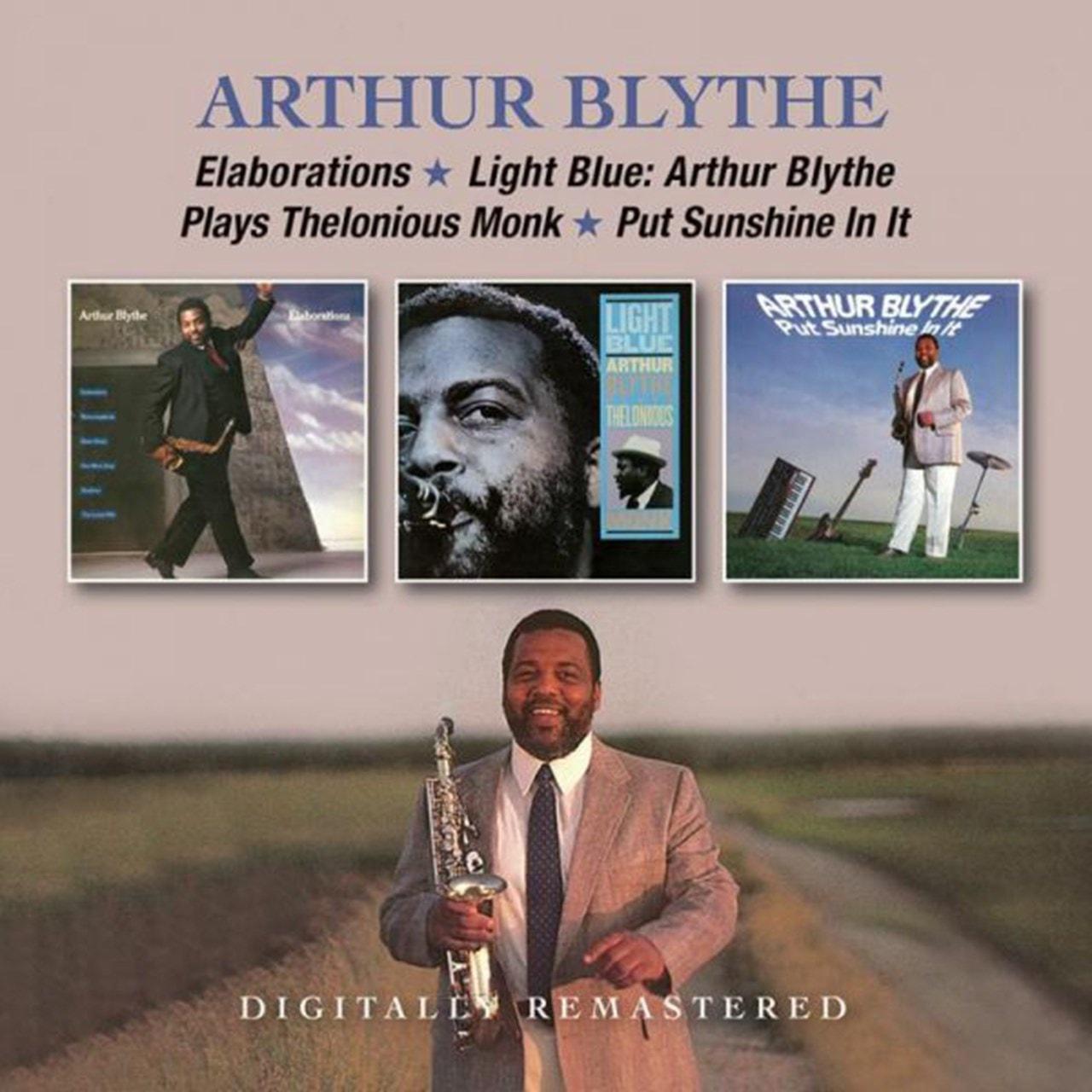 Elaborations/Light Blue/Arthur Blythe Plays Thelonious Monk - 1