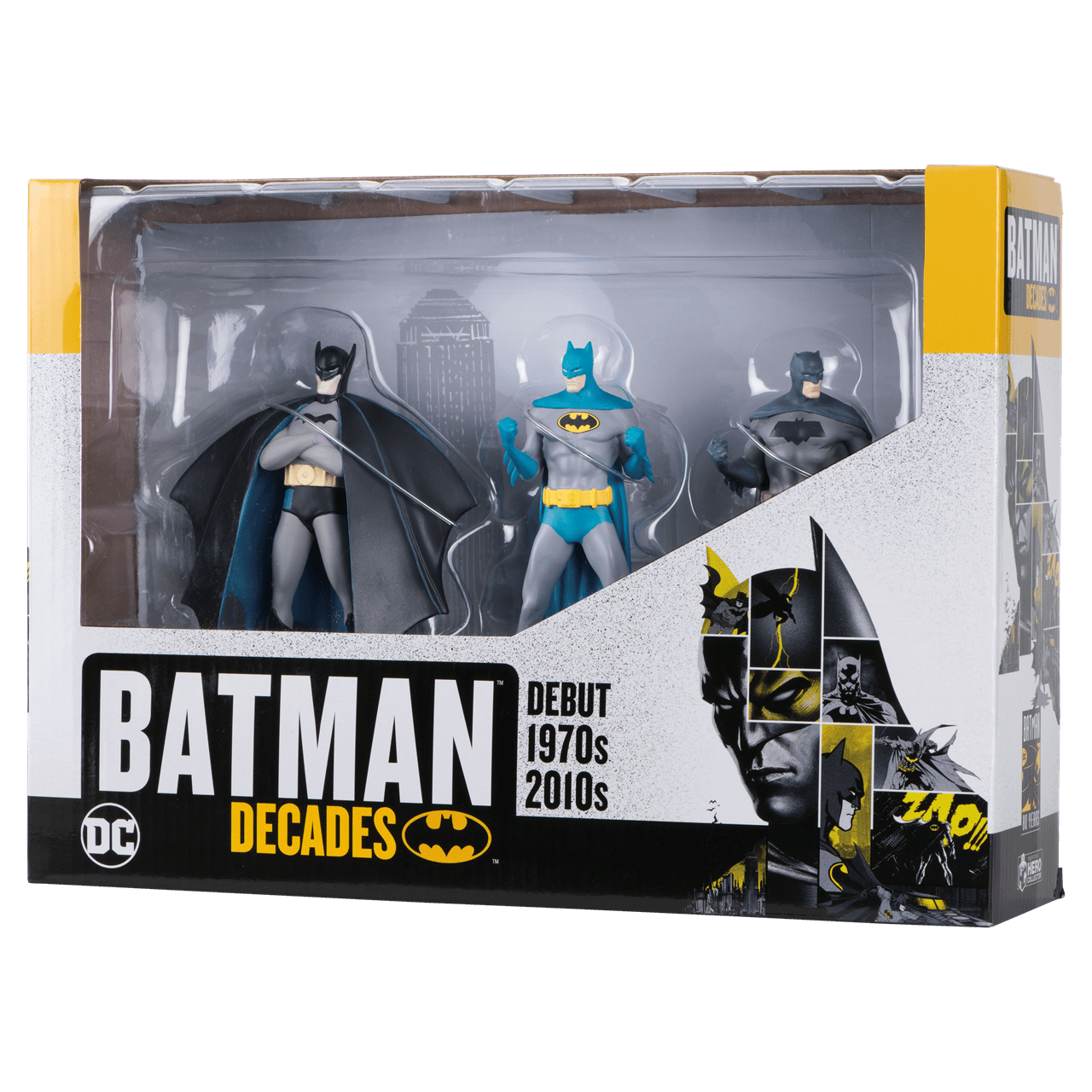 Batman Decades: 3 Figurine Set: Hero Collector - 2