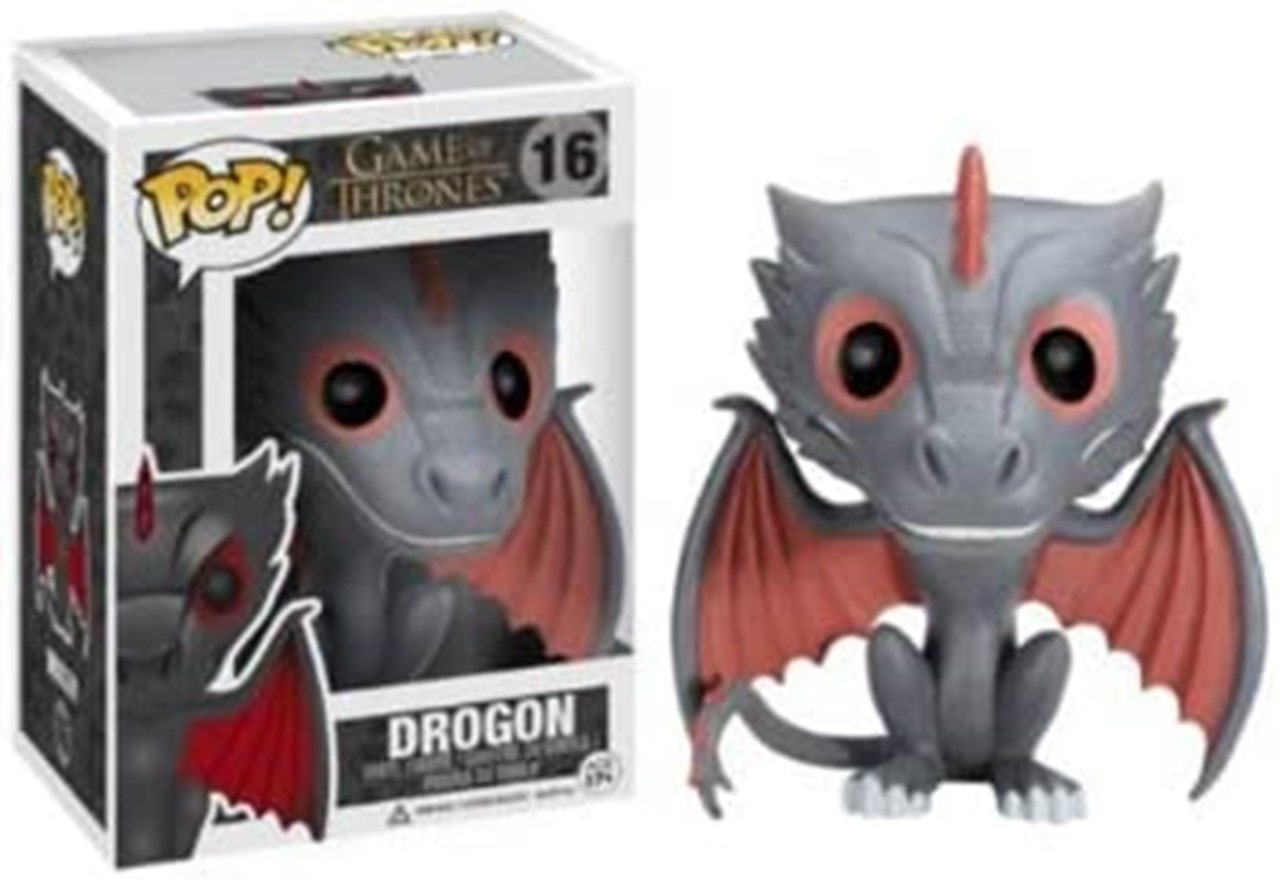 Drogon (Dragon) Game of Thrones (16) Pop Vinyl - 2
