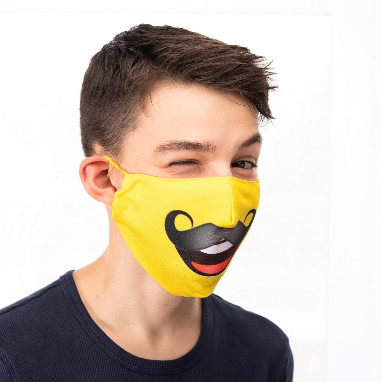 Moustache Emoji Face Covering - 2
