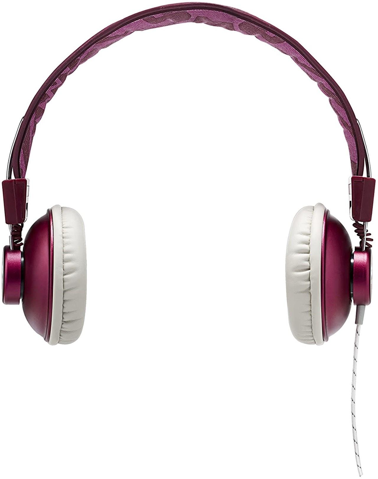 House Of Marley Positive Vibration Purple Headphones W/Mic (hmv Exclusive) - 3