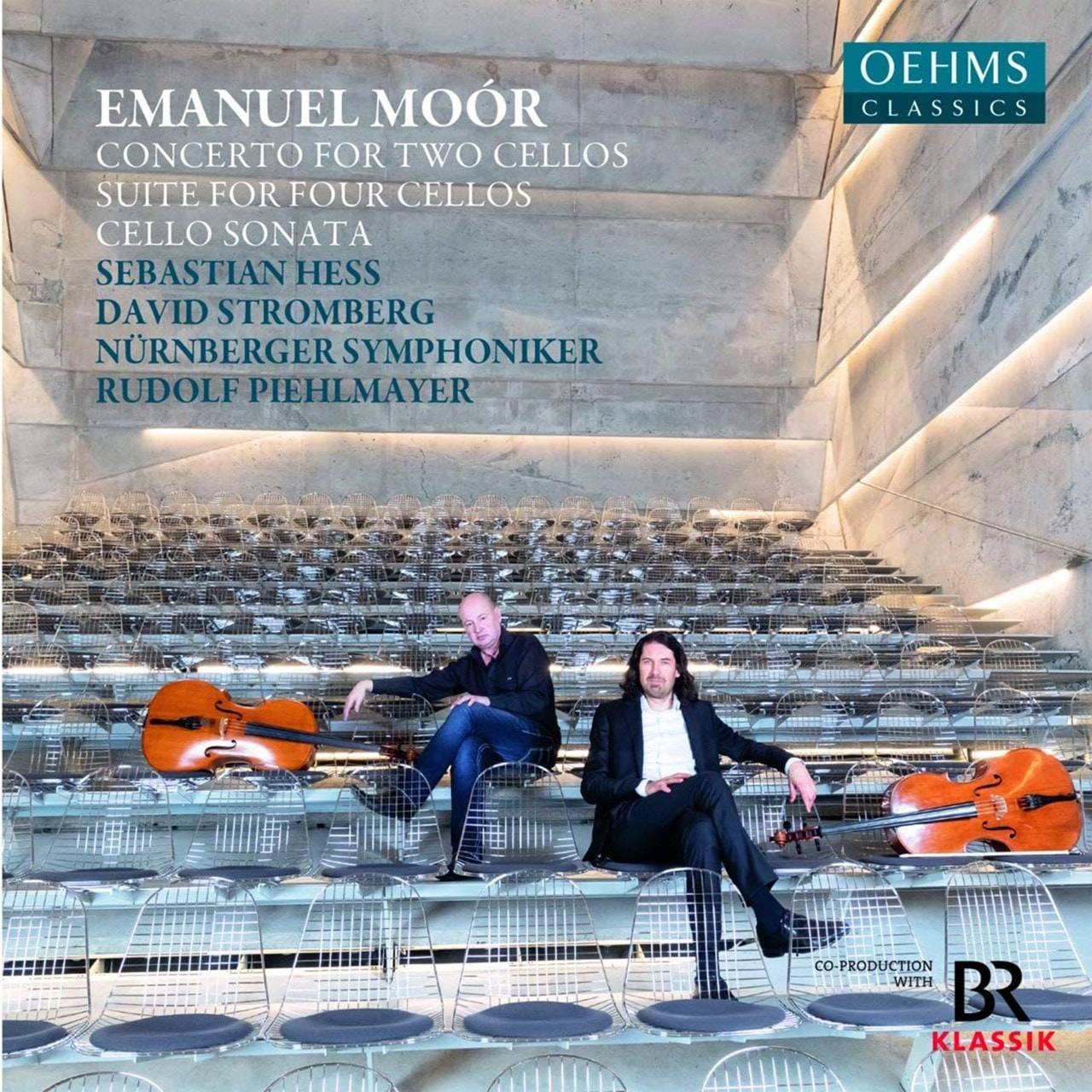 Emanuel Moor: Concerto for Two Cellos/Suite for Four Cellos/... - 1