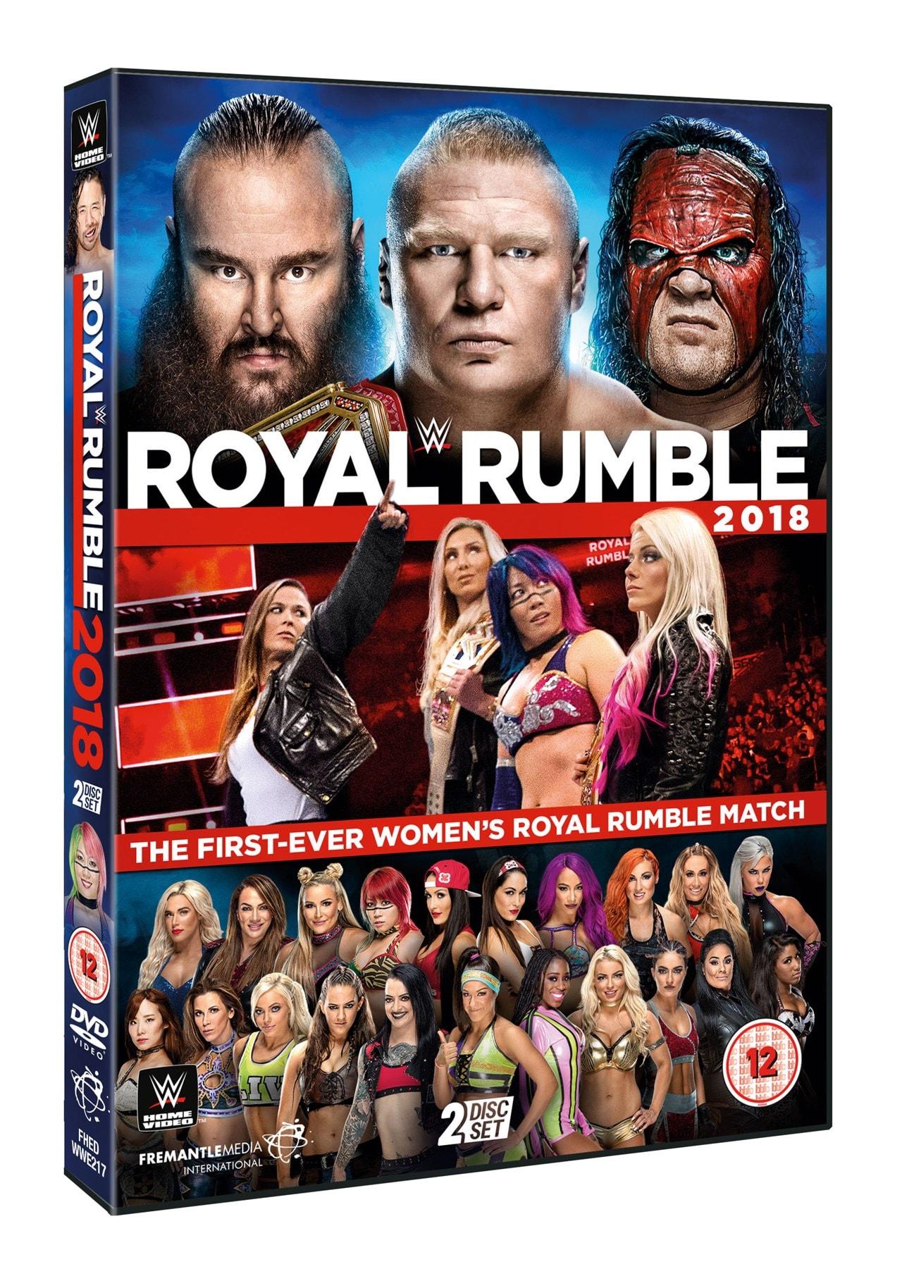WWE: Royal Rumble 2018 - 1
