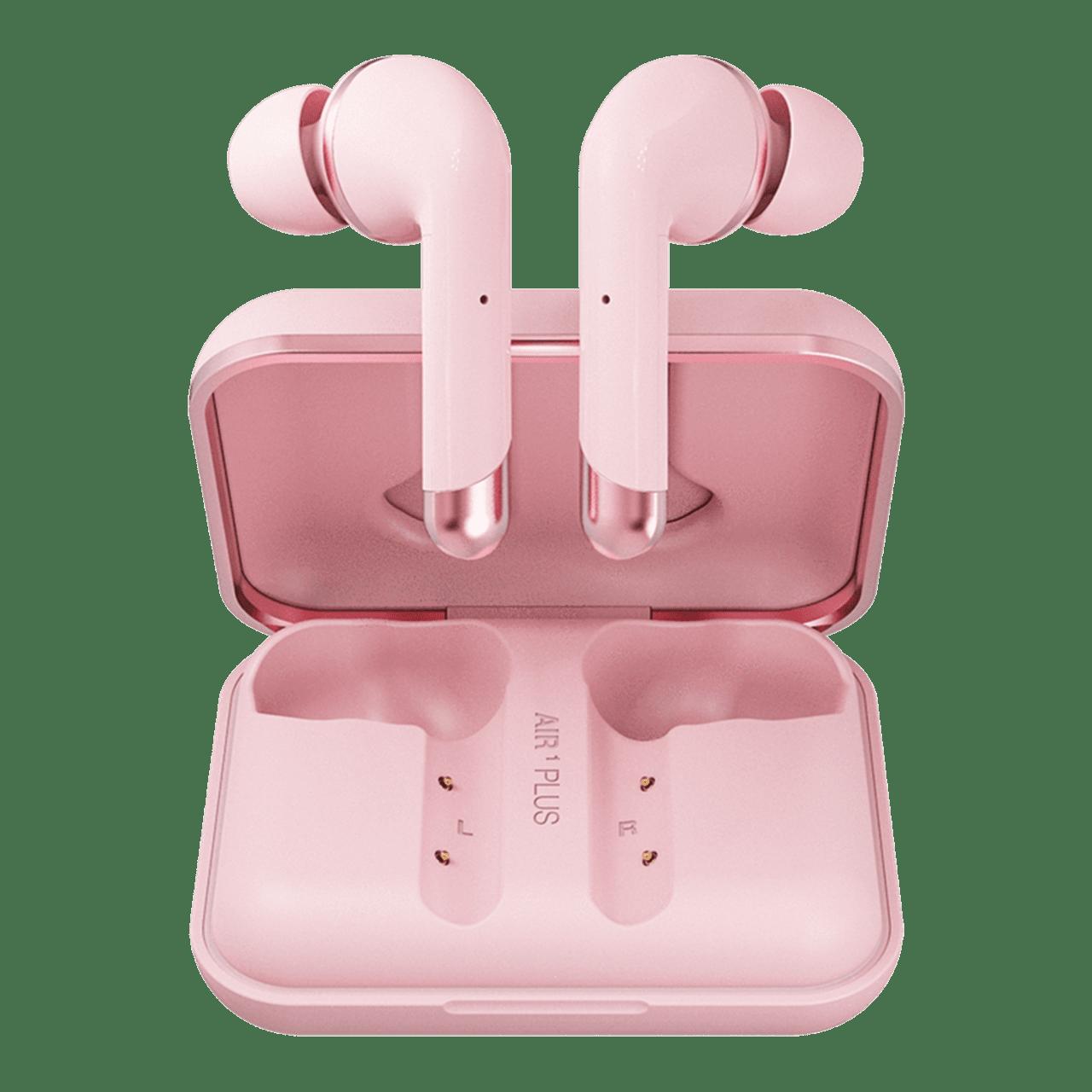 Happy Plugs Air1 Plus Pink Gold In Ear True Wireless Bluetooth Earphones - 2