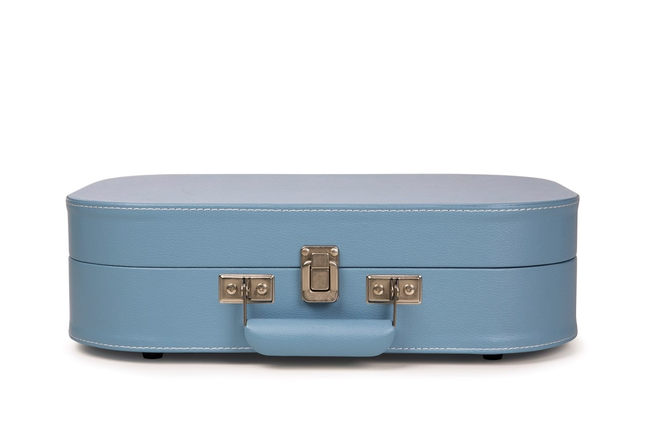 Crosley Discovery Glacier Blue Turntable - 3