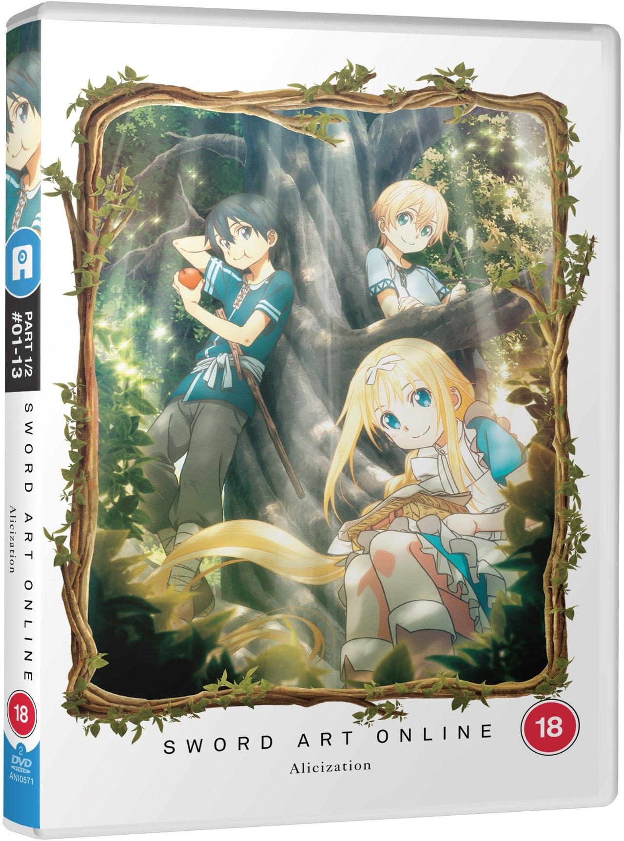Sword Art Online: Alicization - Part One | DVD | Free shipping over £20 | HMV Store