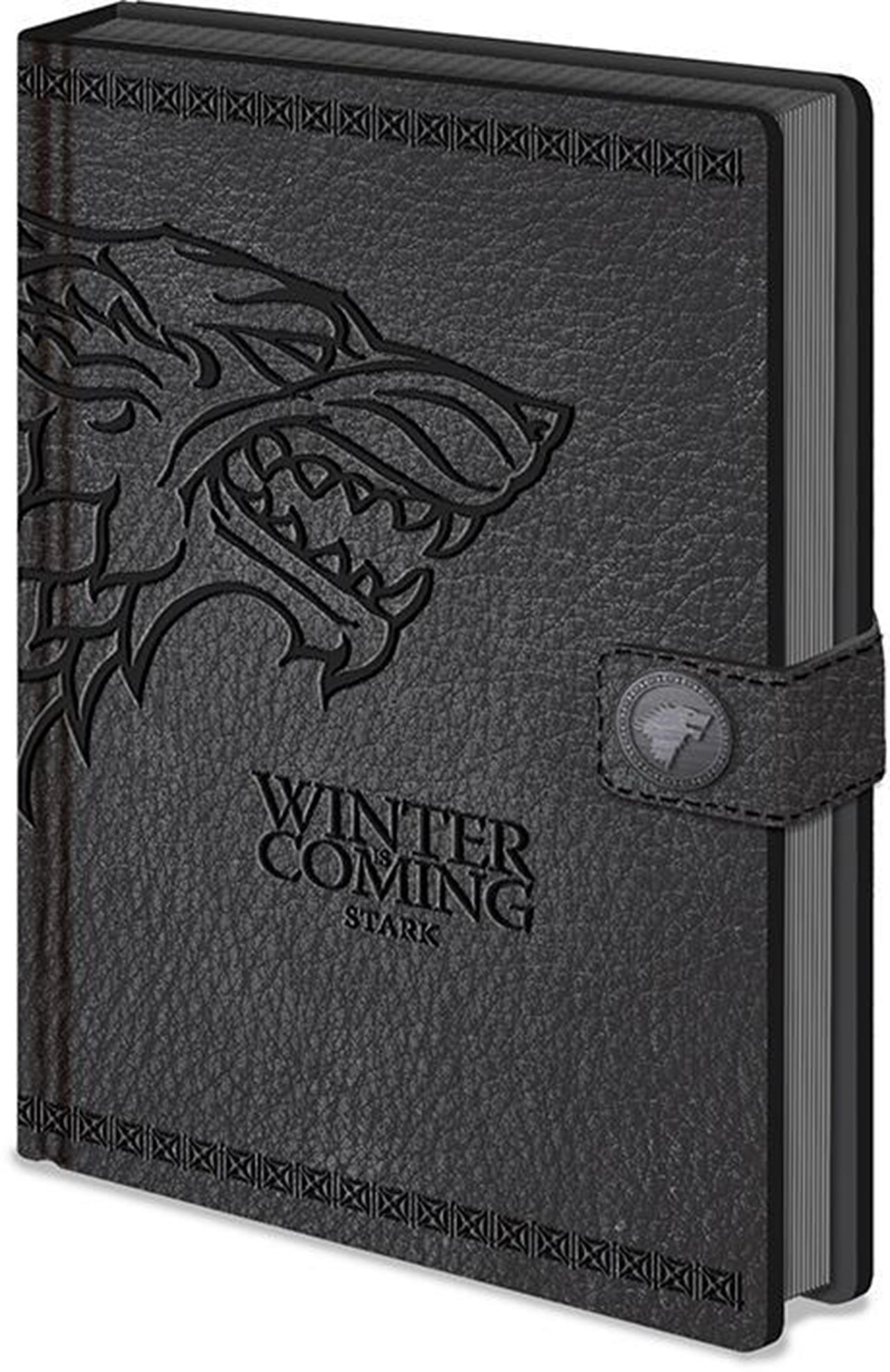 Game Of Thrones Stark Clasp A5 Notebook - 1