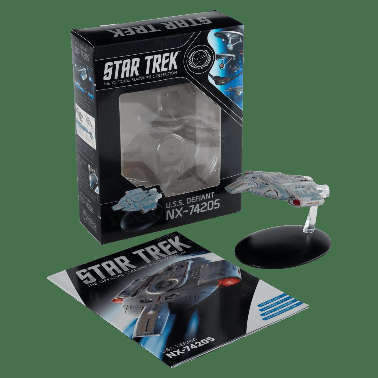 Star Trek USS Defiant NX-74205: Deep Space Nine TV Series: Hero Collector - 1