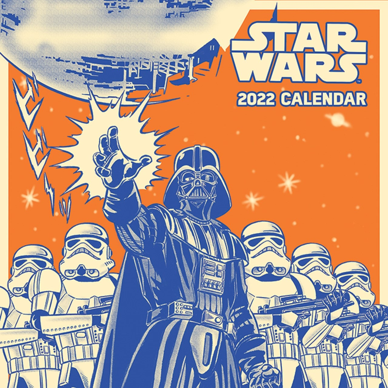 Star Wars Calendar 2022.Star Wars 3d Cover Classic Square 2022 Calendar Calendars Free Shipping Over 20 Hmv Store