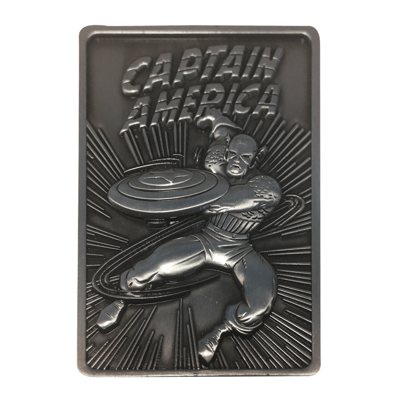 Captain America: Marvel Limited Edition Ingot Collectible - 3