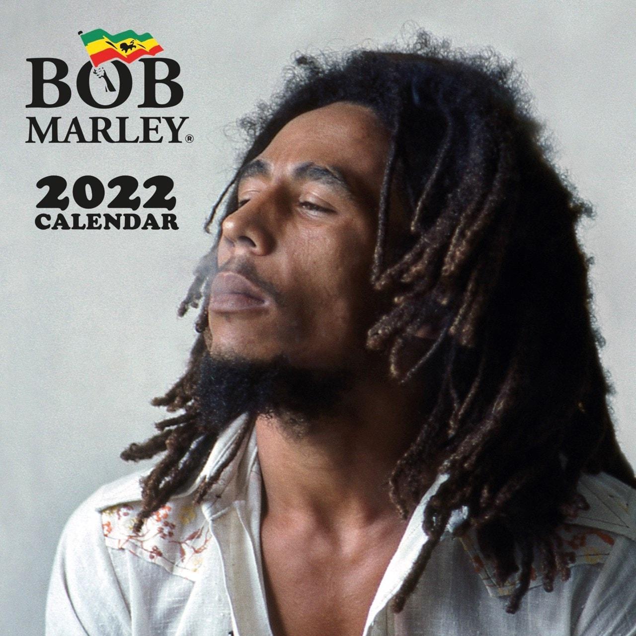 Bob Marley: Square 2022 Calendar - 1