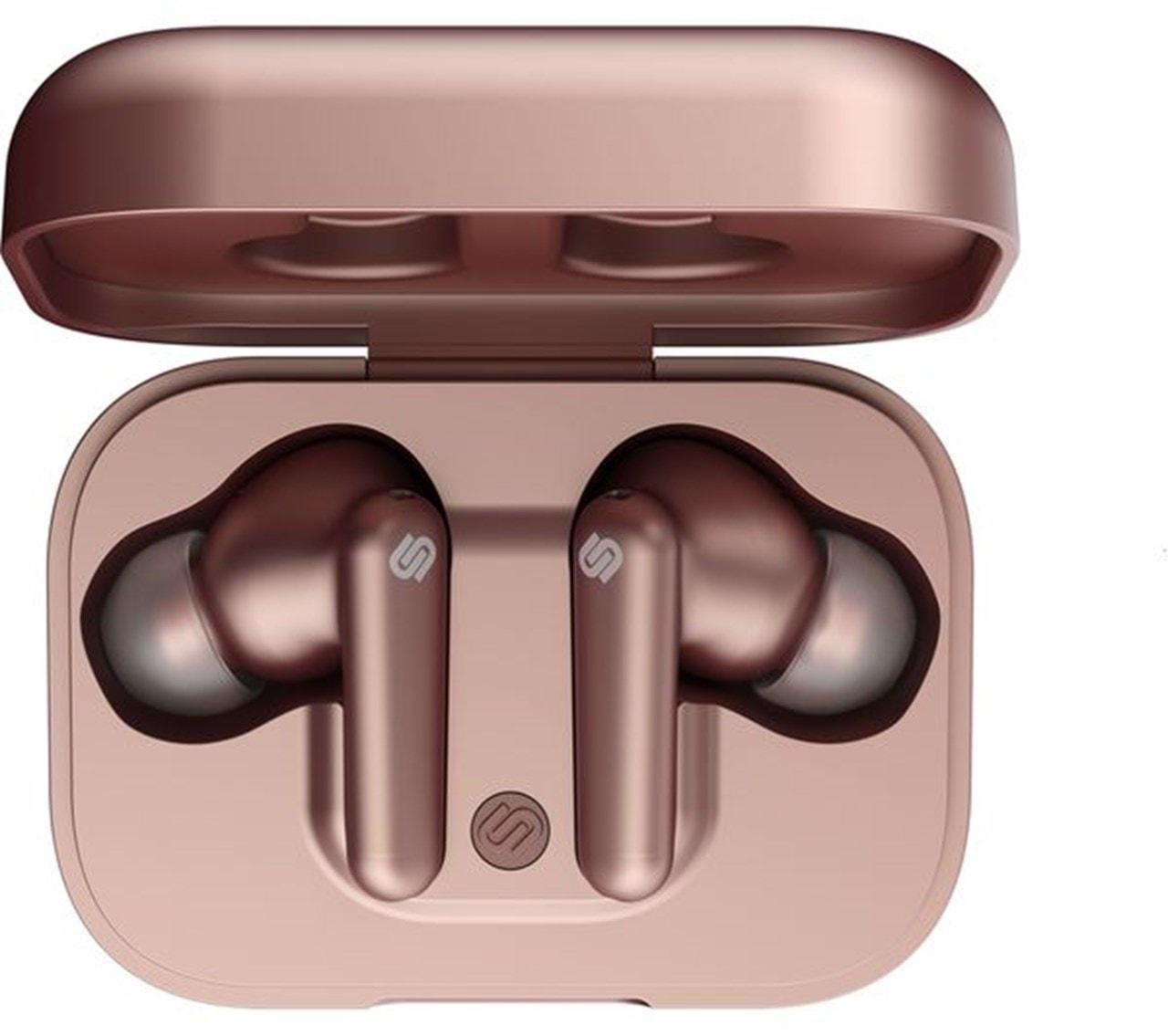Urbanista London Rose Gold True Wireless Active Noise Cancelling Bluetooth Earphones - 4