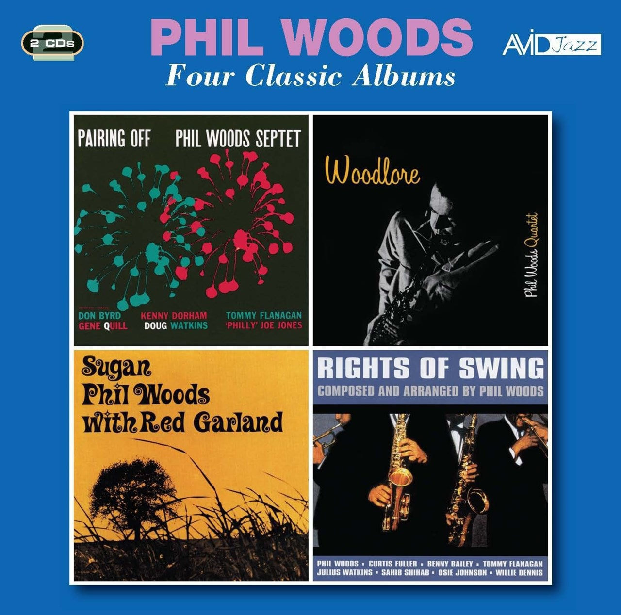Four Classic Albums: Pairing Off/Woodlore/Sugan/Rights of Swing - 1