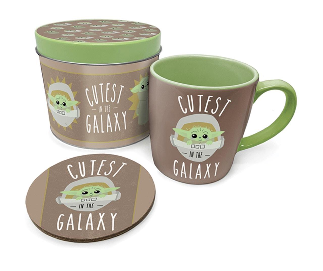 The Mandalorian: Cutest In The Galaxy Mug Gift Set in Tin - 2