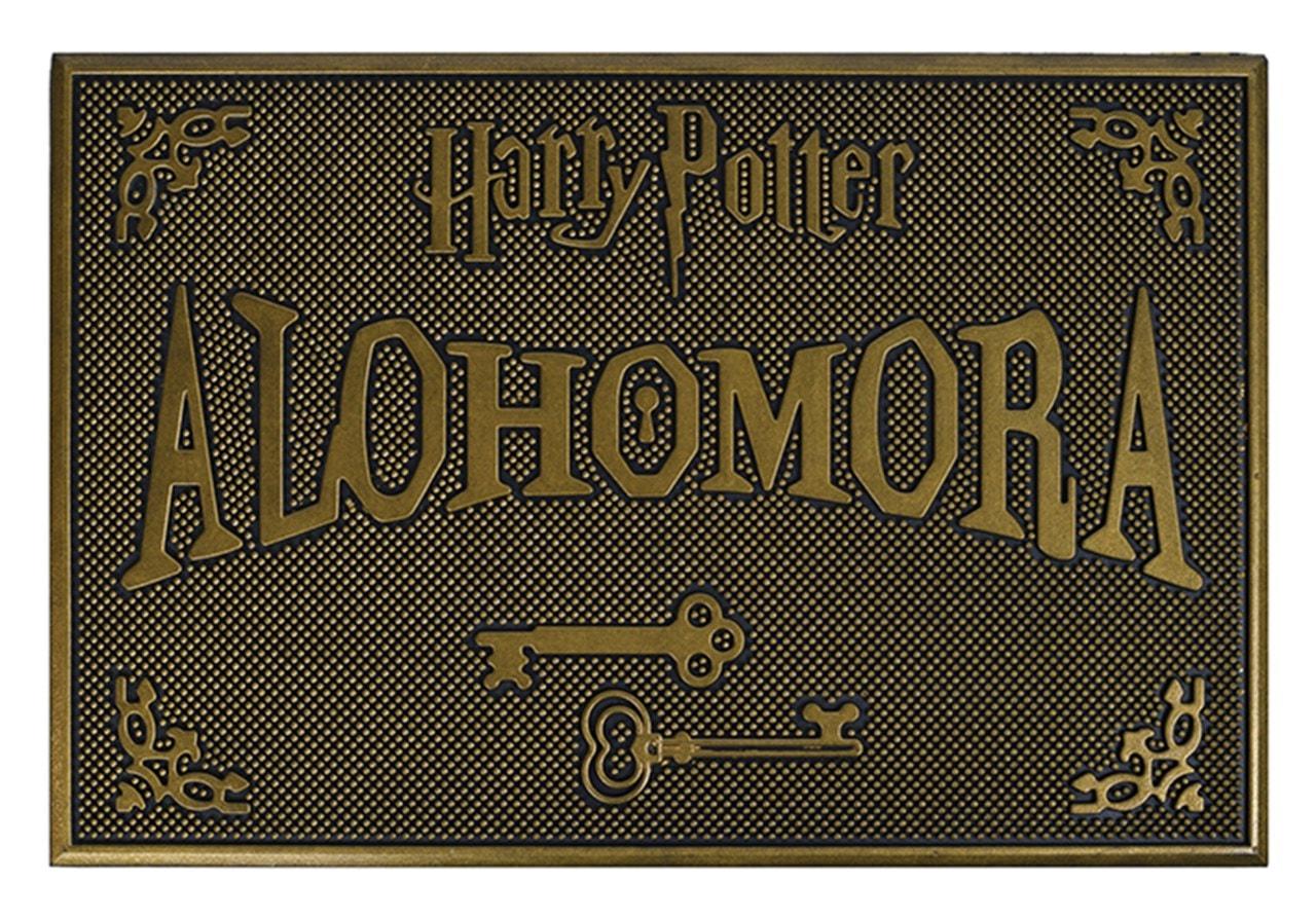 Harry Potter: Alohomora Rubber Door Mat - 1