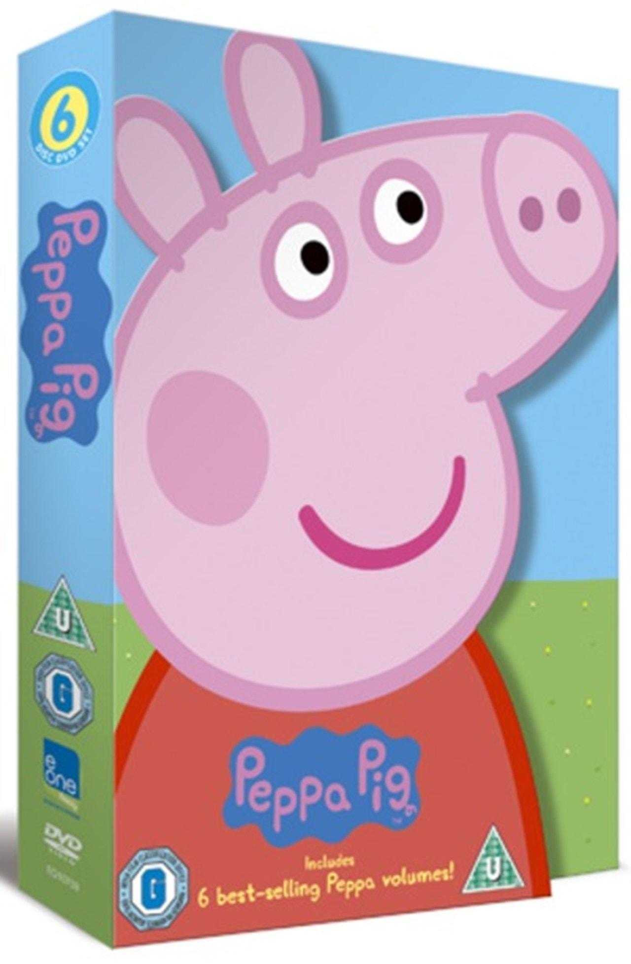 Peppa Pig: 6 Best-selling Peppa Volumes - 1