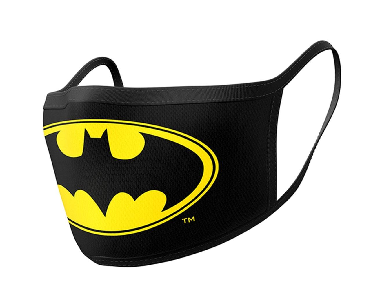 Batman: Logo Face Covering (2 pack) - 1