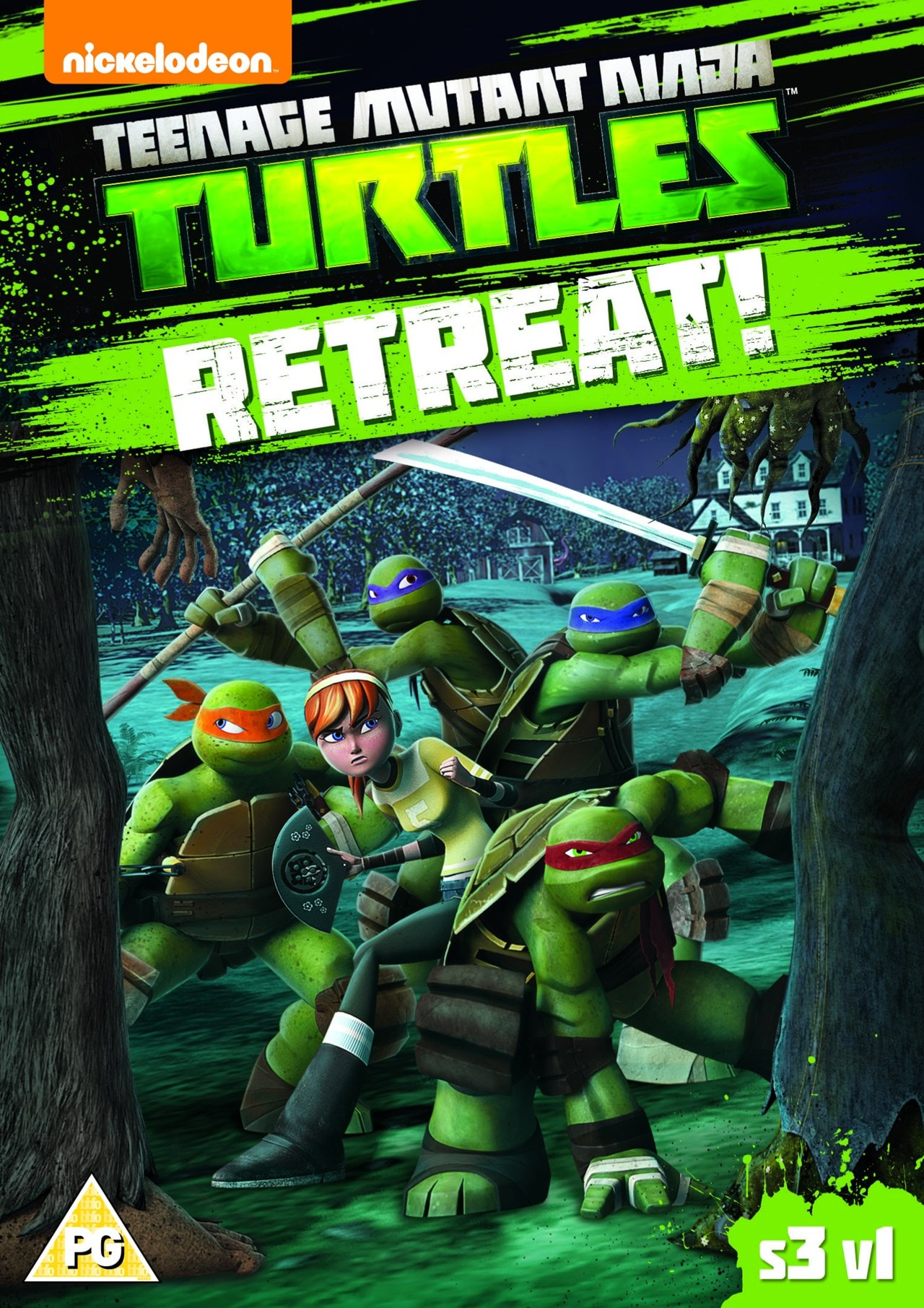 Teenage Mutant Ninja Turtles: Retreat! - Season 3 Volume 1 - 1