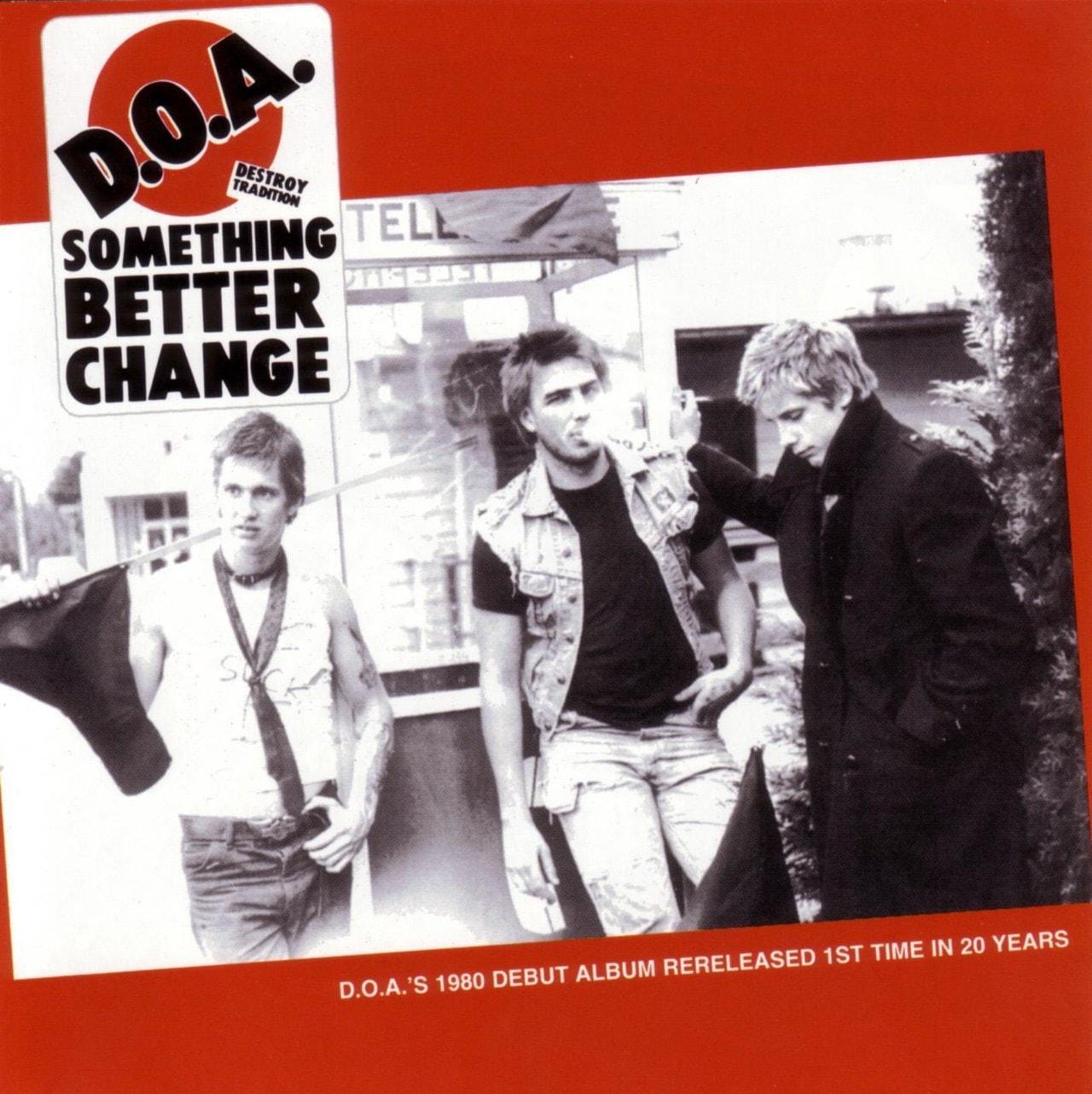 Something Better Change - 1