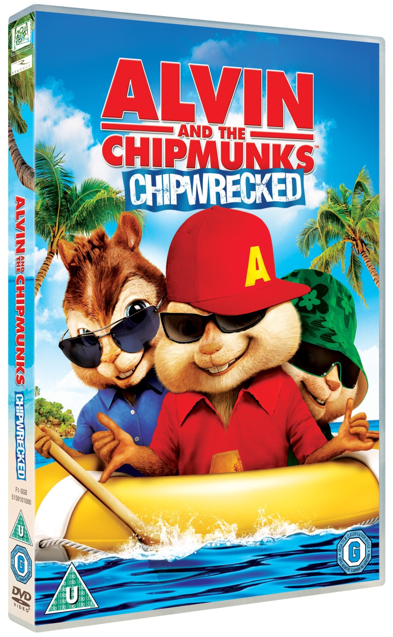 Alvin and the Chipmunks: Chipwrecked - 2