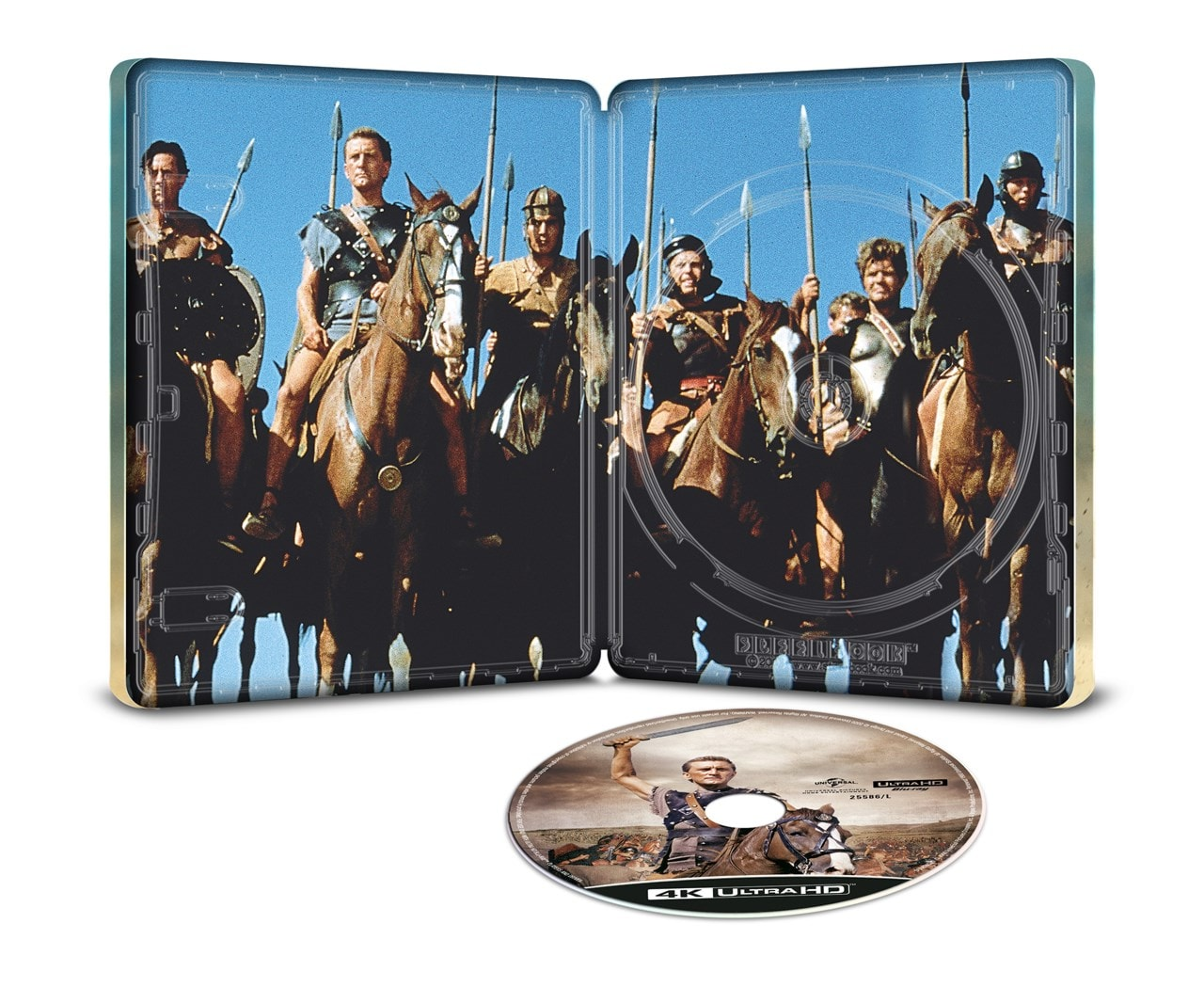 Spartacus 60th Anniversay Limited Edition 4K Ultra HD Steelbook - 2