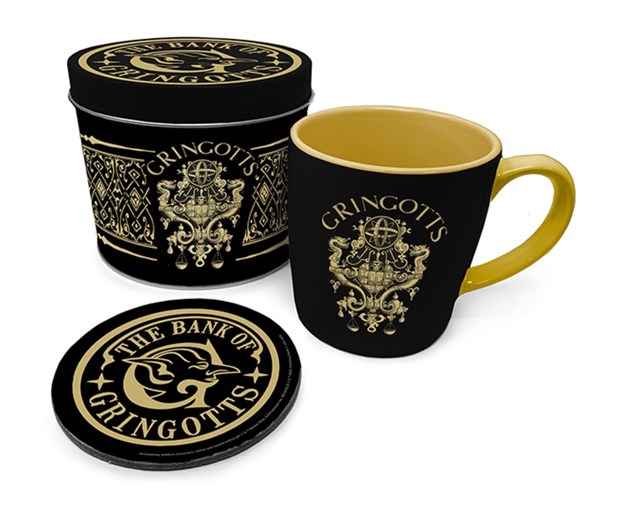 Harry Potter: Gringotts Mug Gift Set in Tin - 1