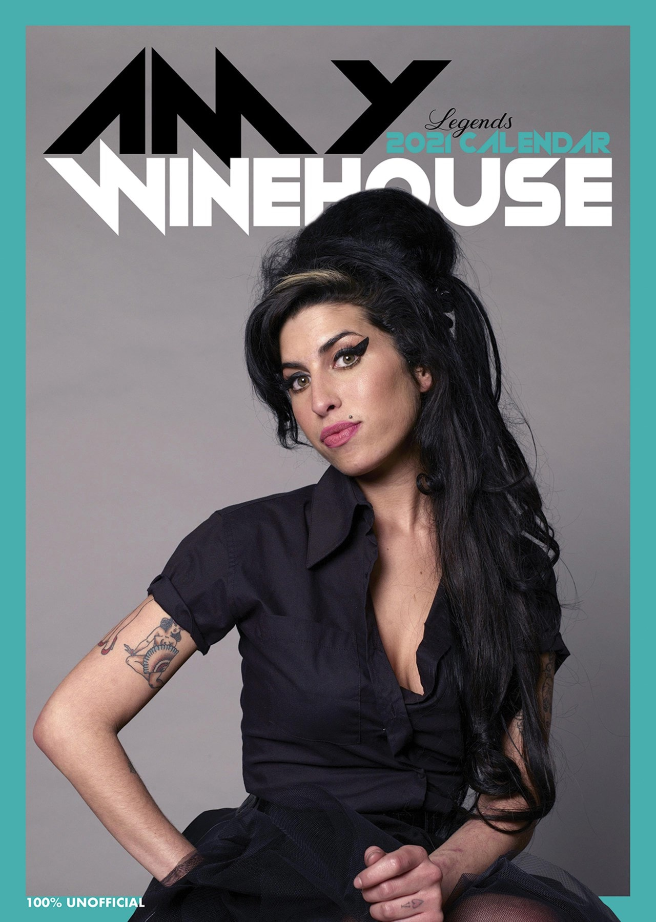 Amy Winehouse: A3 2021 Calendar - 1
