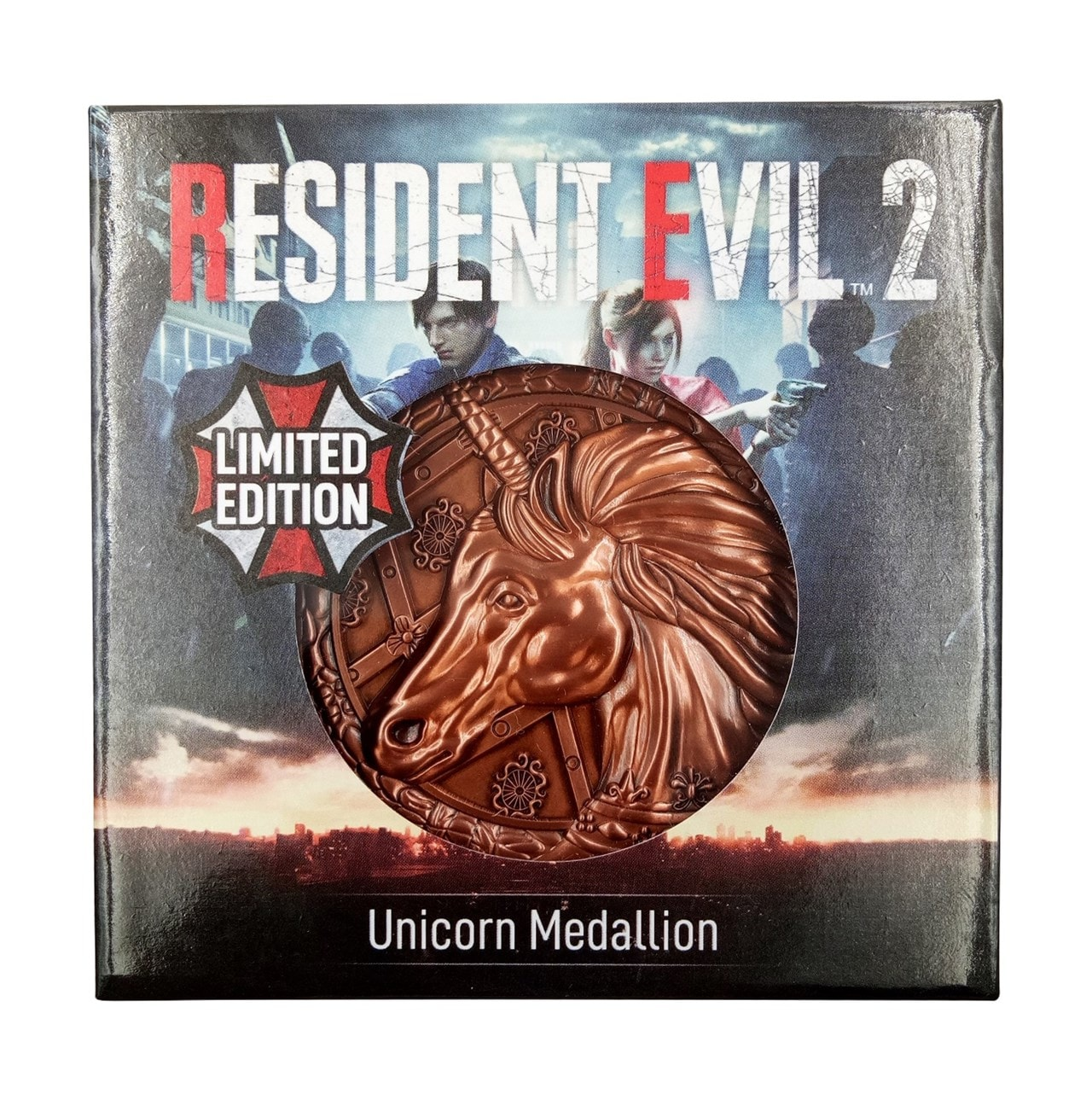 Resident Evil Replica: Unicorn Medallion (online only) - 1