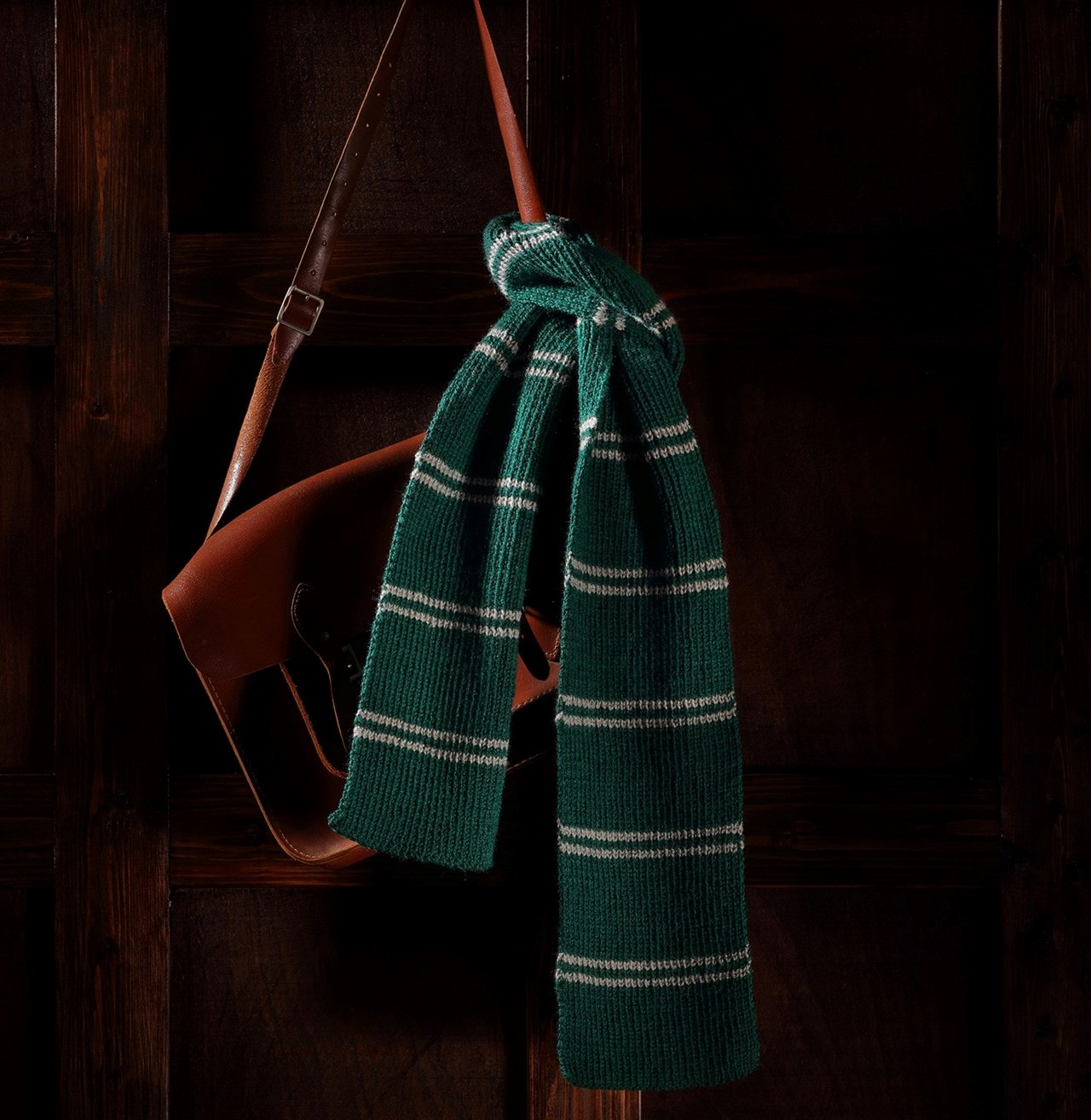 Slytherin House Scarf: Harry Potter Knit Kit - 1