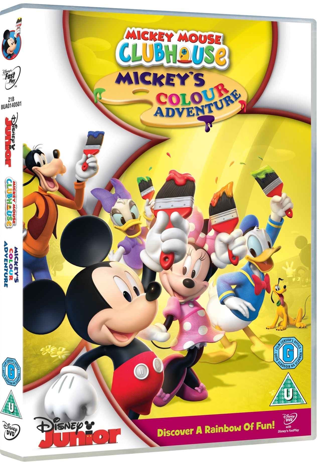 Mickey Mouse Clubhouse: Mickey's Colour Adventure | DVD ...